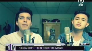 "[VIDEO EN NM]""Despacito"".. con toque boliviano. La versión de Luis Gamarra en NM @ NO MENTIRÁS"