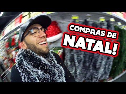 COMPRAS PRA NOVA CASA DE NATAL!! #ACasaDosFlopDeNatal