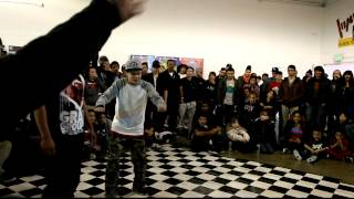 jan funky vs tronic Flava Of The Year (Popping)