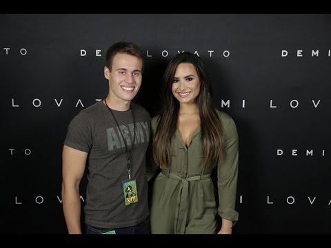 Desabafo sobre meu encontro com a Demi Lovato na Future Now Tour