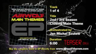AIRWOLF Main Themes EP Track 1 of 4 Music Score Video