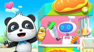 Mesin Penjual Kue Otomatis | Lagu Makanan | BabyBus Song | BabyBus Bahasa Indonesia