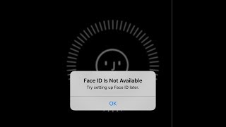 how to fix Face ID not working on iPhone X/Xr/XS/ XS  Max 2019