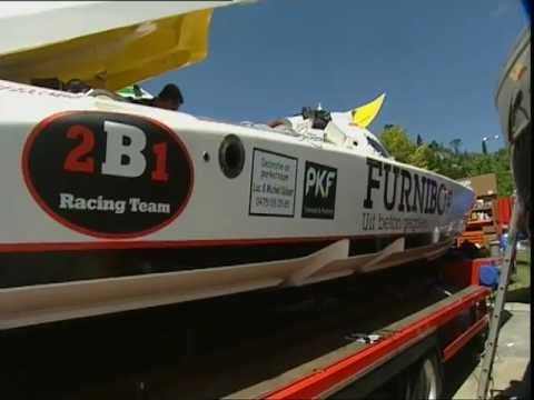 Pierre Colpin - Powerboat P1 - 2009 World Championship - Istanbul, Turkey (Part 1).VOB
