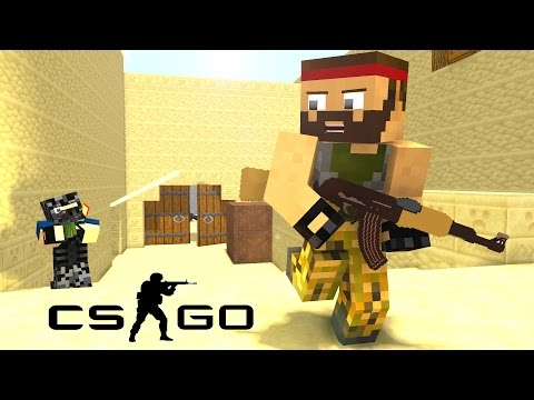 If Minecraft was like Counter-Strike ! - Craftronix Minecraft Animation