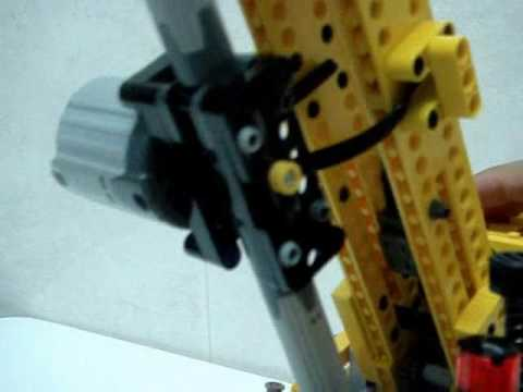 LEGO Linear Actuator. Functional Test