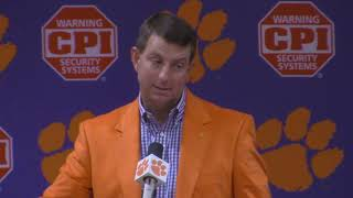 TigerNet: Swinney on roster moves, Carter Combine snub
