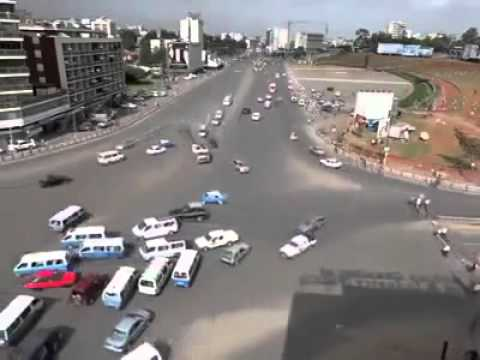 Scary driving in Ethiopia.