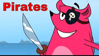 Pirates Ep - 24 - Pyaar Mohabbat Happy Lucky - Funny Hindi Cartoon Show - Zee Kids