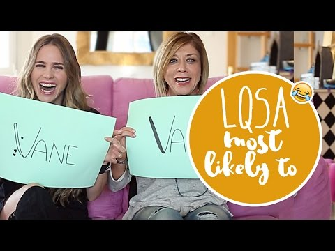 LQSA Most likely to... TAG - Vanesa Romero TV