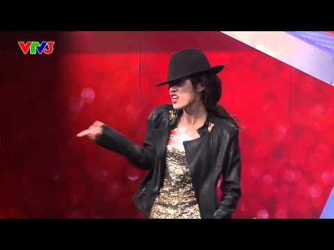 Vietnam's Got Talent 2014 - Nhảy Michael jackson - TẬP 04 - Hồng Nhung