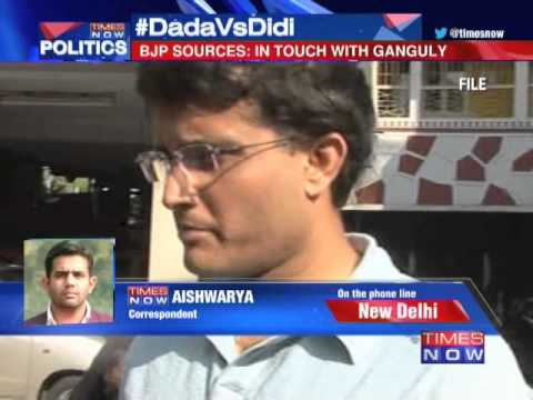 Sourav Ganguly in touch with BJP leader?