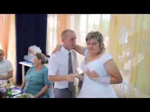 Приколы на свадьбе Пьяная невеста