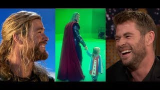 Chris Hemsworth - funny moments 2018