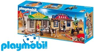 PLAYMOBIL WESTERN - 4398 TAKE ALONG VILLAGGIO WESTERN PORTATILE RECENSIONE PLAYMOBIL (ita)