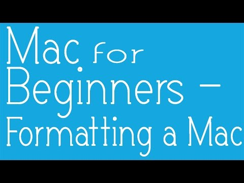 how to format or re-install Macbook pro, Macbook Air, or Mac OS (easy)
