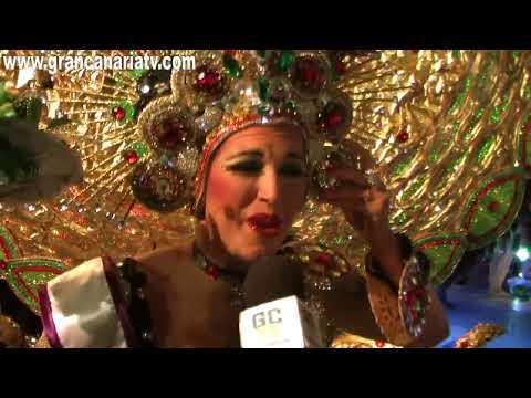 Támara Fietz Lorenzo - Segunda Dama de Honor - Gala Reina Carnaval de Maspalomas 2013