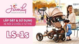Family Shop - Giới thiệu và hướng dẫn lắp đặt xe nôi Belecoo LS-1s