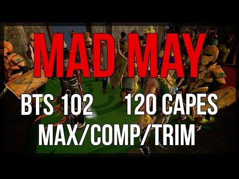Runescape [RS3] Mad May | 120 Capes + Max/Comp/Trim Talks!