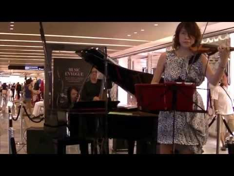 This Masquerade (violin) by Yap Shu Mei @ Paragon (29th Aug 13) (HD)