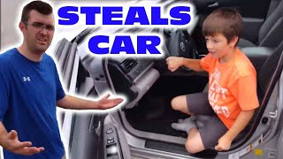 Kid Takes Uncle 39 S Car To Go To Mcdonalds Skit