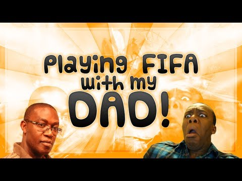 FIFA 12 | Playing FIFA with my DAD
