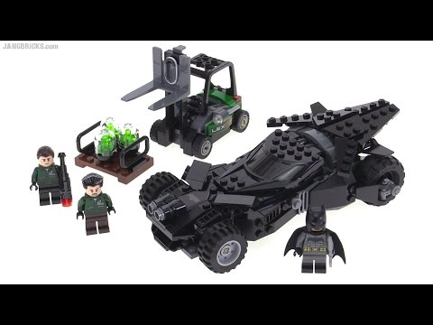 LEGO Batman vs. Superman Batmobile review! Kryptonite Interception set 76045