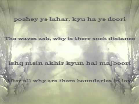 Bheegi Palkoun Par Naam - Lyrics With Translation - Babbu Maan (iloveurahima) video
