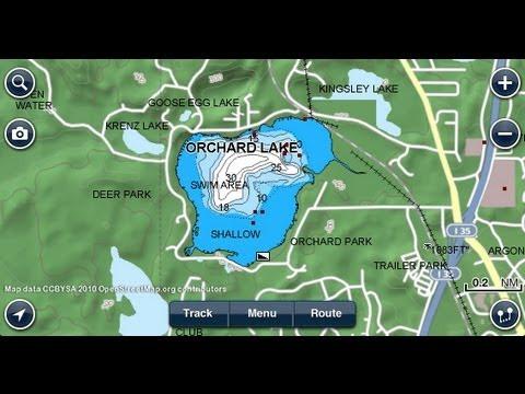 Navionics Marine & Lakes