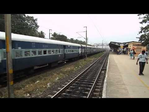 Chennai Thirupathi Express With Twin Rpm Wap-1's !!!! video