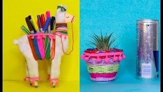 #DIYProjects #DIYOrganizer # HomeDecor 3 DIY Room Organizer Idea Out of Waste by Aloha Crafts