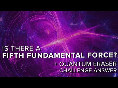Is There a Fifth Fundamental Force? + Quantum Eraser Answer   Space Time   PBS Digital Studios