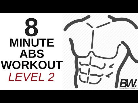 8 MINUTE ABS WORKOUT - LEVEL 2