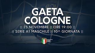 Serie A1M [10^]: Gaeta - Cologne 33-30