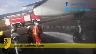 Ethiopian aircraft wheel fall off shortly after take-off