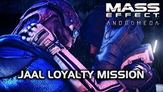 Mass Effect Andromeda - Flirting & Talking of Love During Jaal Loyalty Mission