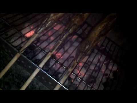 Oktoberfest At Home / Steckerlfisch / Fisch Grillen / Fish On A Stick / Grilling Fish