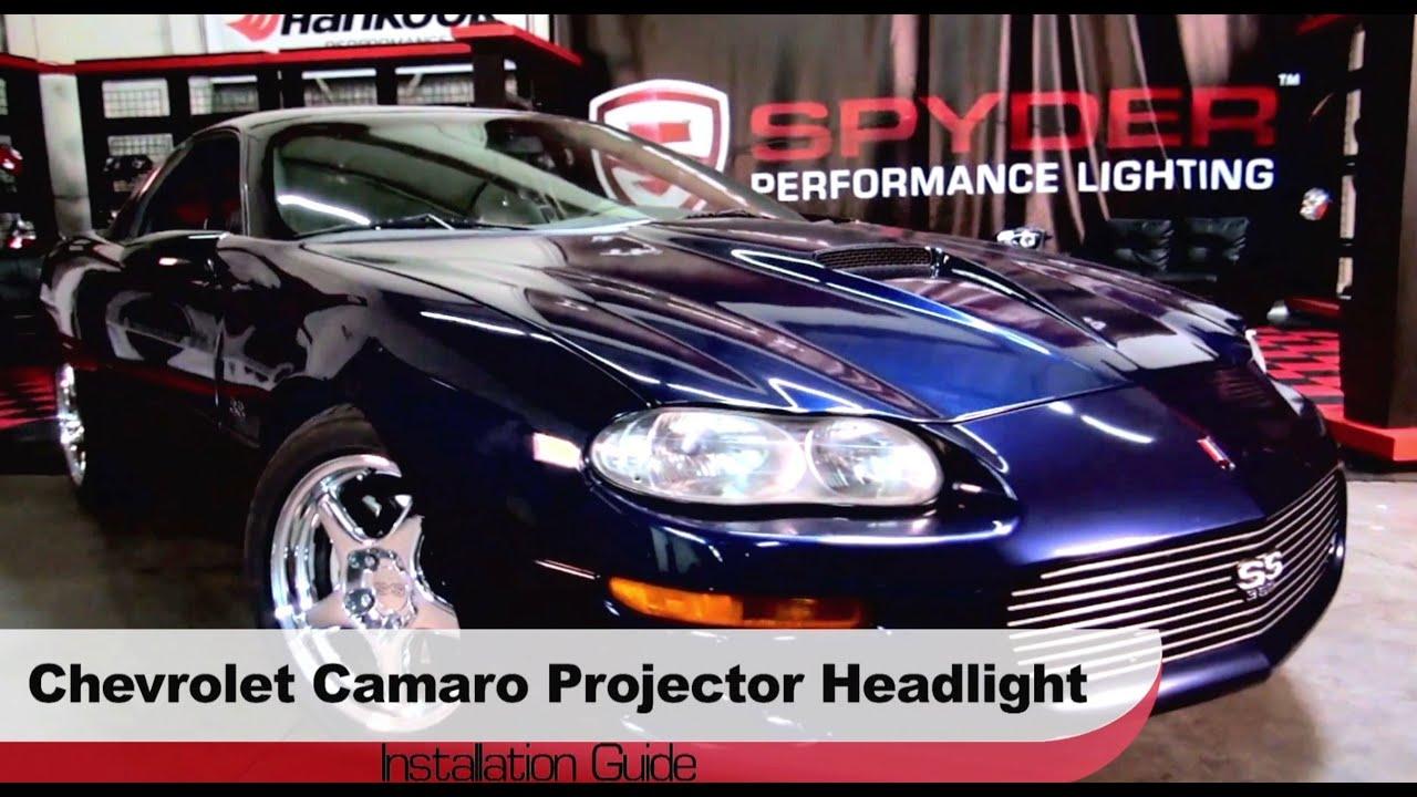 Spyder Auto Installation 1998 2002 Chevrolet Camaro