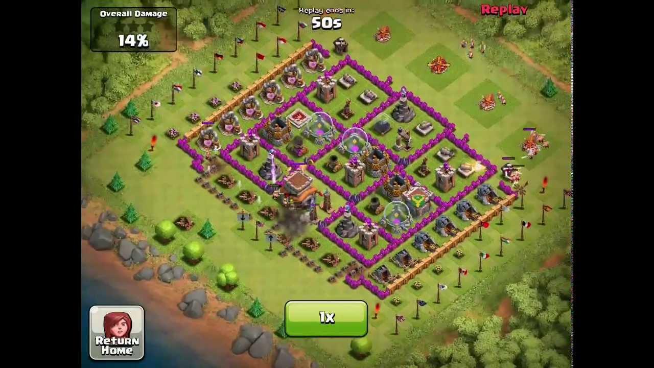 Clash of Clans - No more flag blocking (honeypot still works ...