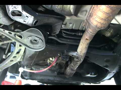 how to change the differential fluid in a 1997 toyota camry youtube. Black Bedroom Furniture Sets. Home Design Ideas