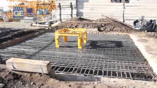 Fundición pies de empotramiento torre grúa POTAIN