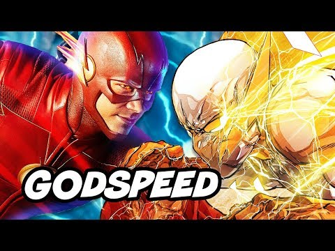 The Flash Season 4 Godspeed Powers Scene Explained - How To Take Speed Force thumbnail
