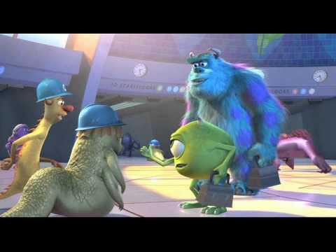 Monsters Inc. swedish trailer 3D