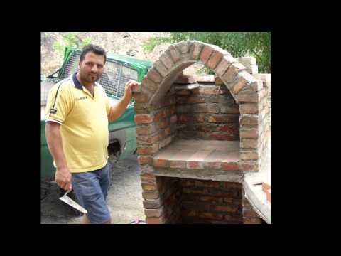 Come costruire un forno con barbecue.....