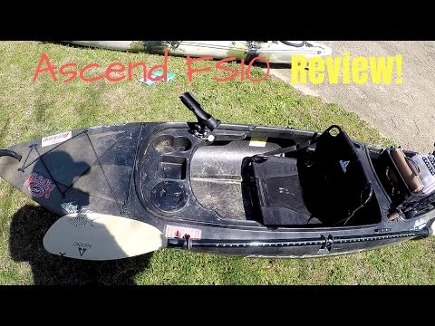 Ascend FS10 Kayak REVIEW!