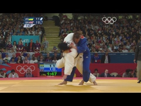Kindzerska v Bryant - Women's -78kg Judo Bronze Medal Match - London 2012 Olympics