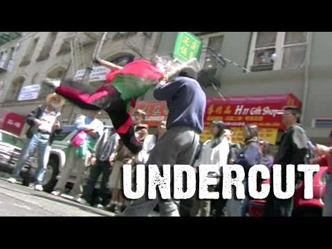"Ninja political satire ""Undercut"" - MTV Movie Award Nominee (stuntpeople)"