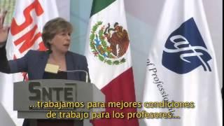Maestros de México y Estados Unidos defenderán juntos la escuela pública