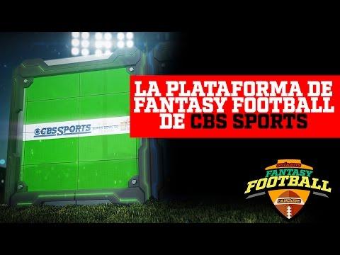 GUIA FANTASY FOOTBALL 2015- CBS SPORTS Análisis de Plataforma