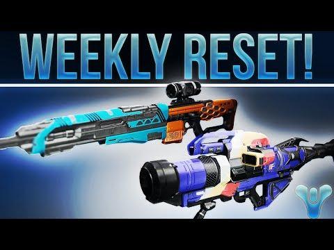 DESTINY WEEKLY RESET! (Final VoG, Nightfall, Weekly Heroics, Must Buy Weapon Rolls, Armor & More!
